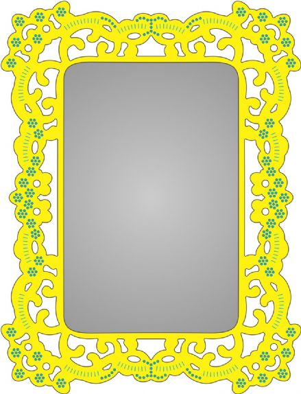 FRM140 ~ FIONA'S MAGIC WINDOW ~ Cheery Lynn Designs dies